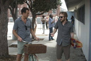 the flaked cast brings will arnett amp other familiar tv