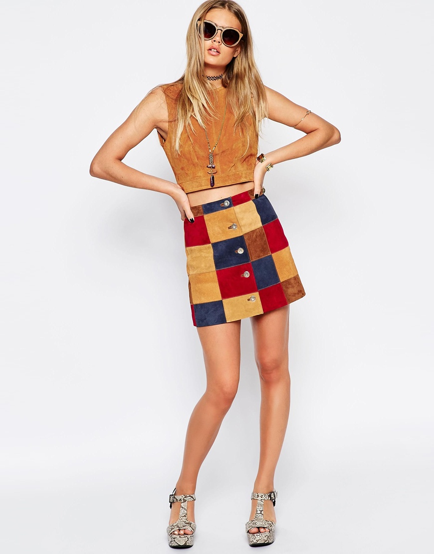 8292d5f46e 21 Suede Skirt Options For Summer That'll Solidify Your '70s Style Icon  Status