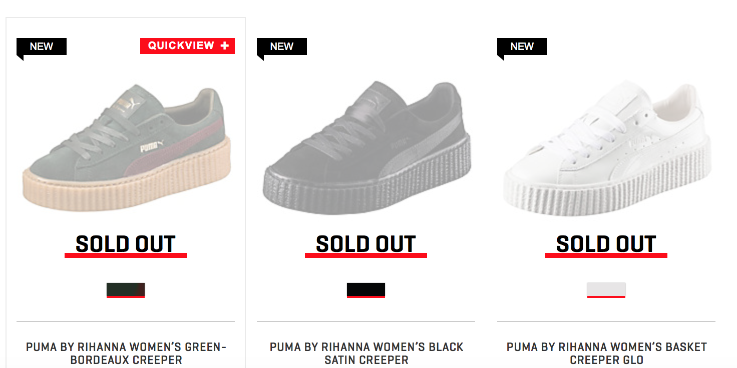 puma creepers next release