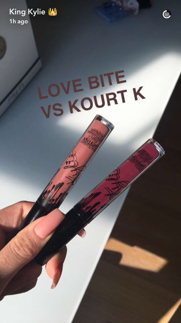 What Color Is Kylie Jenner's New Love Bite Lip Kit