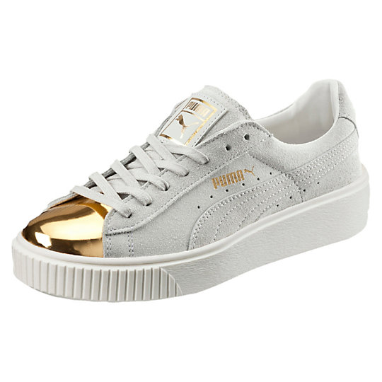 ac4019229fafb0 puma sneakers white and gold