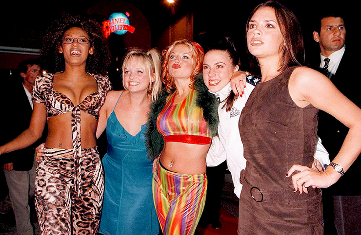 12 Ginger Spice Outfits That Were Some Of The Tightest, Shortest ...