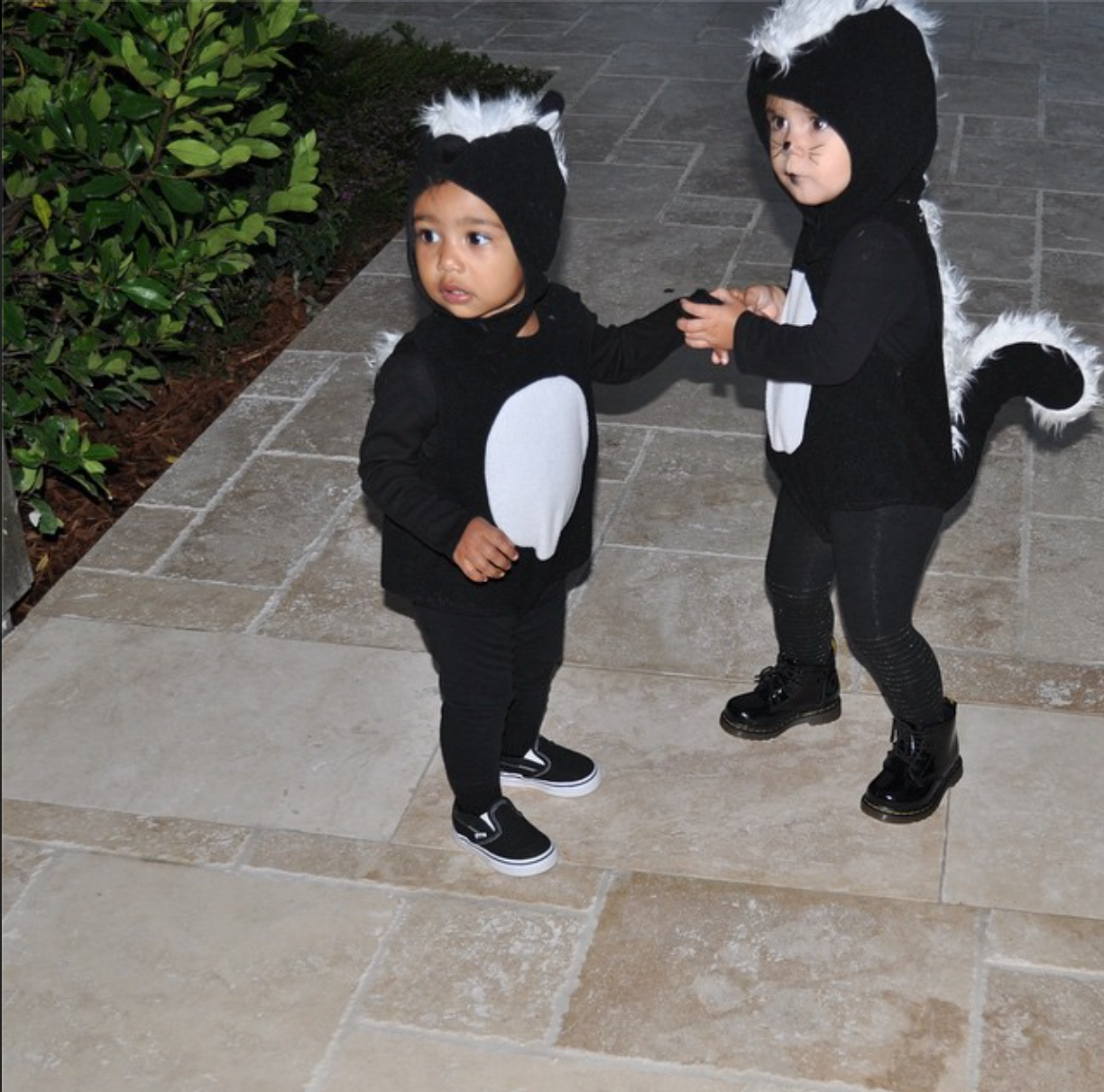 2014's most adorable celebrity kids halloween costumes because north