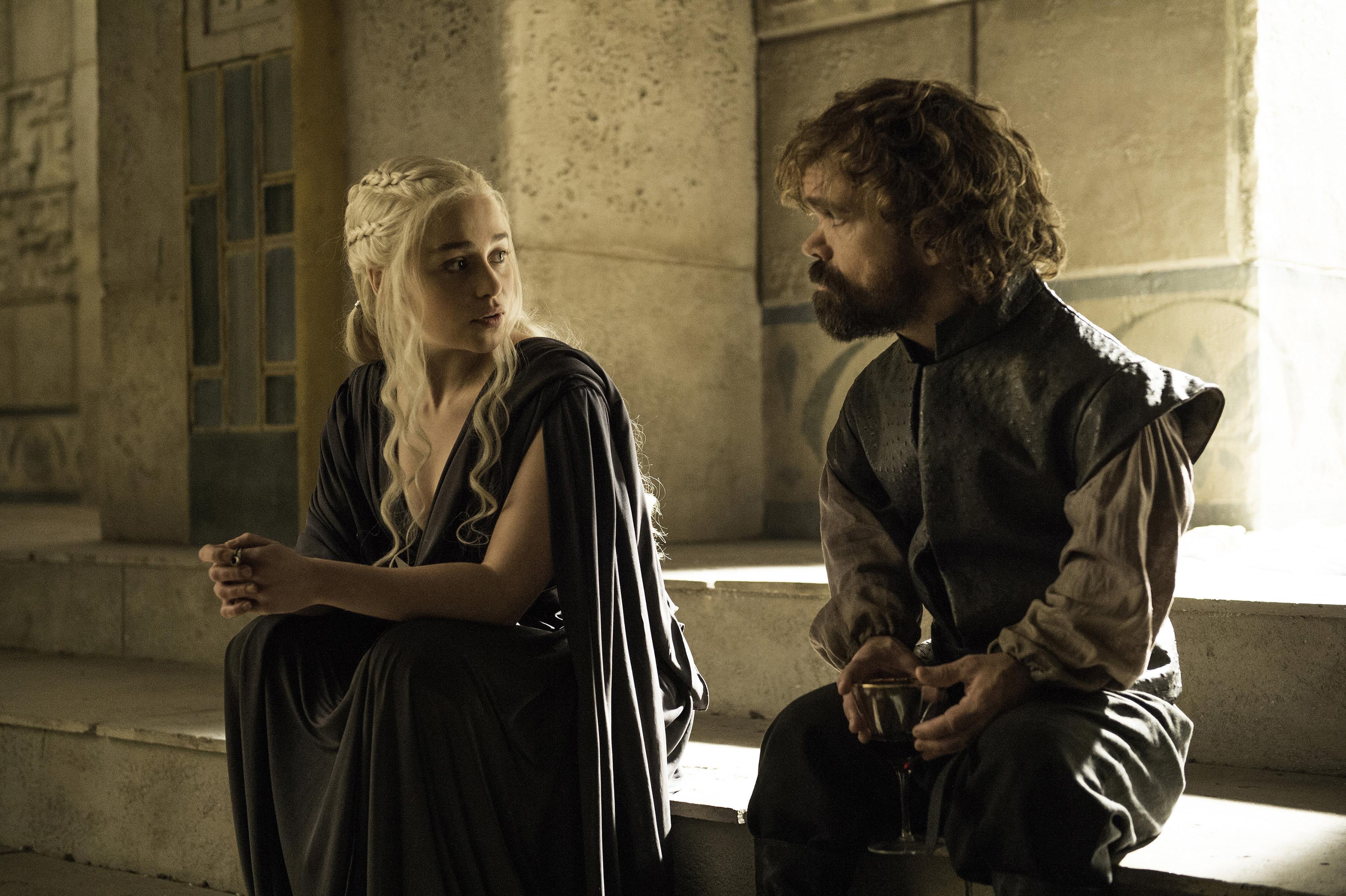 Risultati immagini per daenerys e tyrion