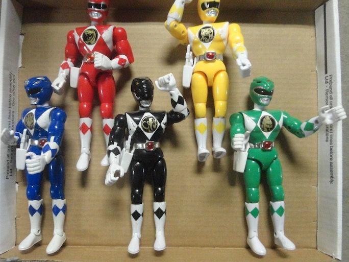 Original Power Rangers Toys 48