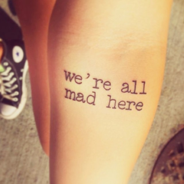24 Literary Text Tattoos Inspired By Moving Words From Books