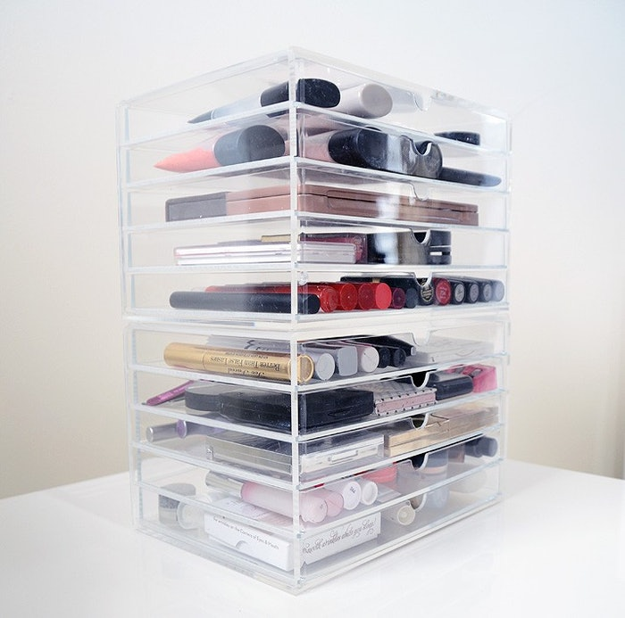 Muji Drawers For The Greatest Makeup Storage Solution Ever Bustle