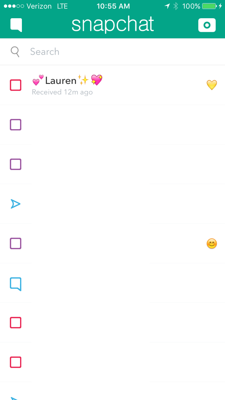 5 Make Sure Your Second Look Was A Good One, Because You Can't  Snapchatguideiphonefeatured3 How To Delete Snapchat Conversations