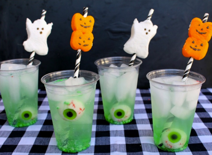easy halloween drink - Spiked Halloween Punch Recipes