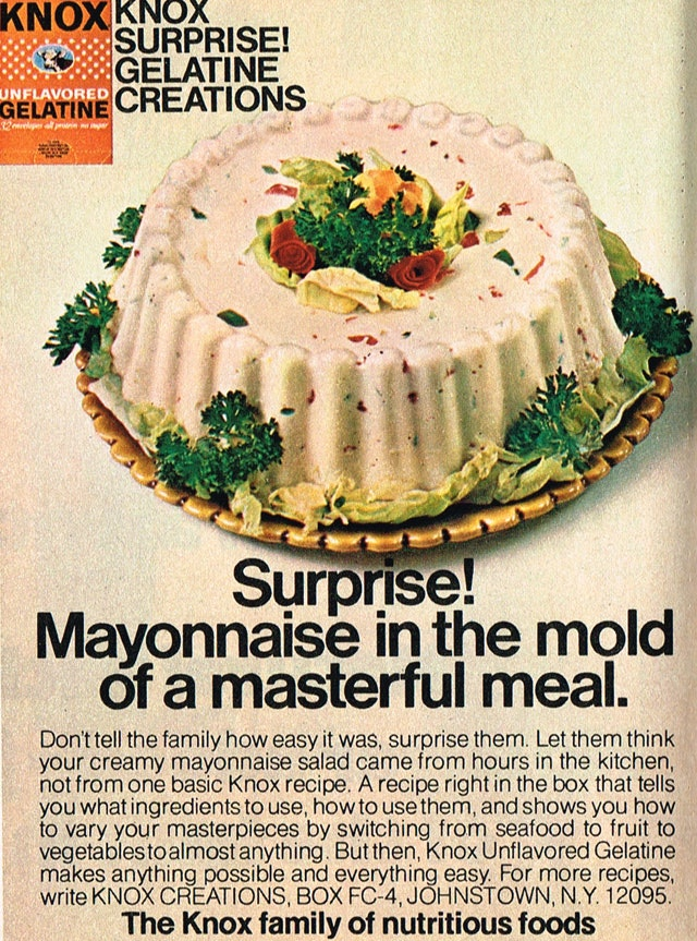 Gag,Worthy Retro Foods People Actually Ate