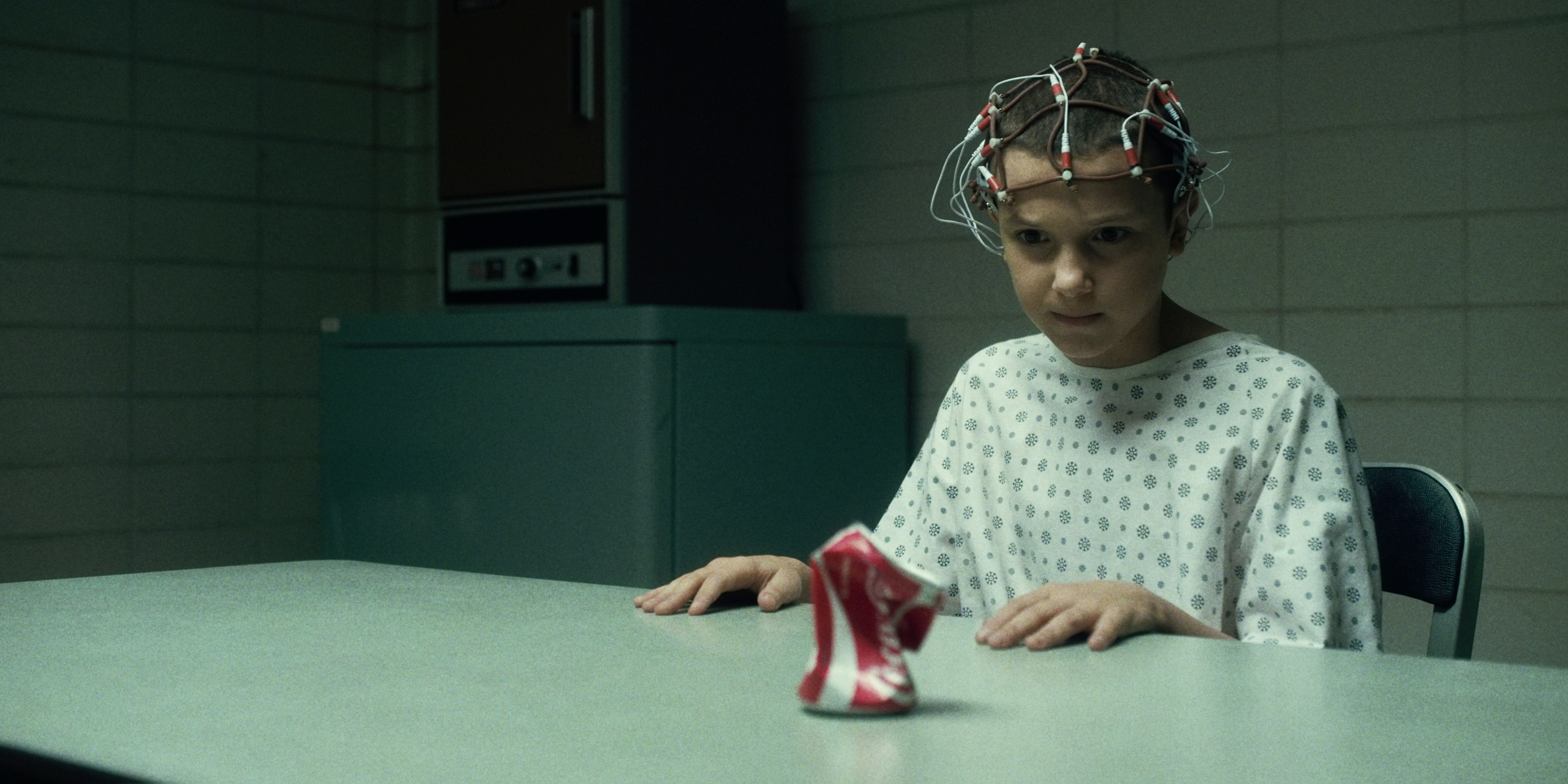 Eleven and coke can