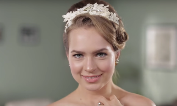 wedding hair styles 50 years of wedding hairstyles in two minutes 3024