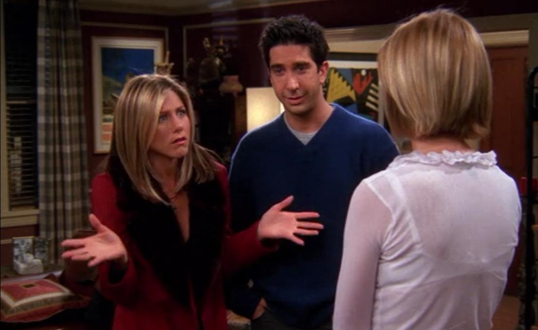 Jennifer Aniston Pregnant On Friends 6