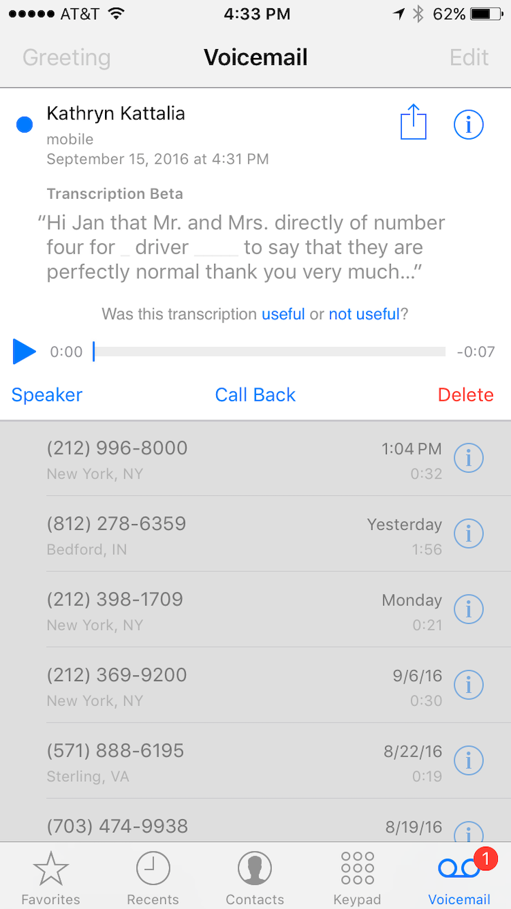 The Next Cool Thing About Voicemail Transcription Is That You Can Use The  Download Button To Share It With Your Friends And Family