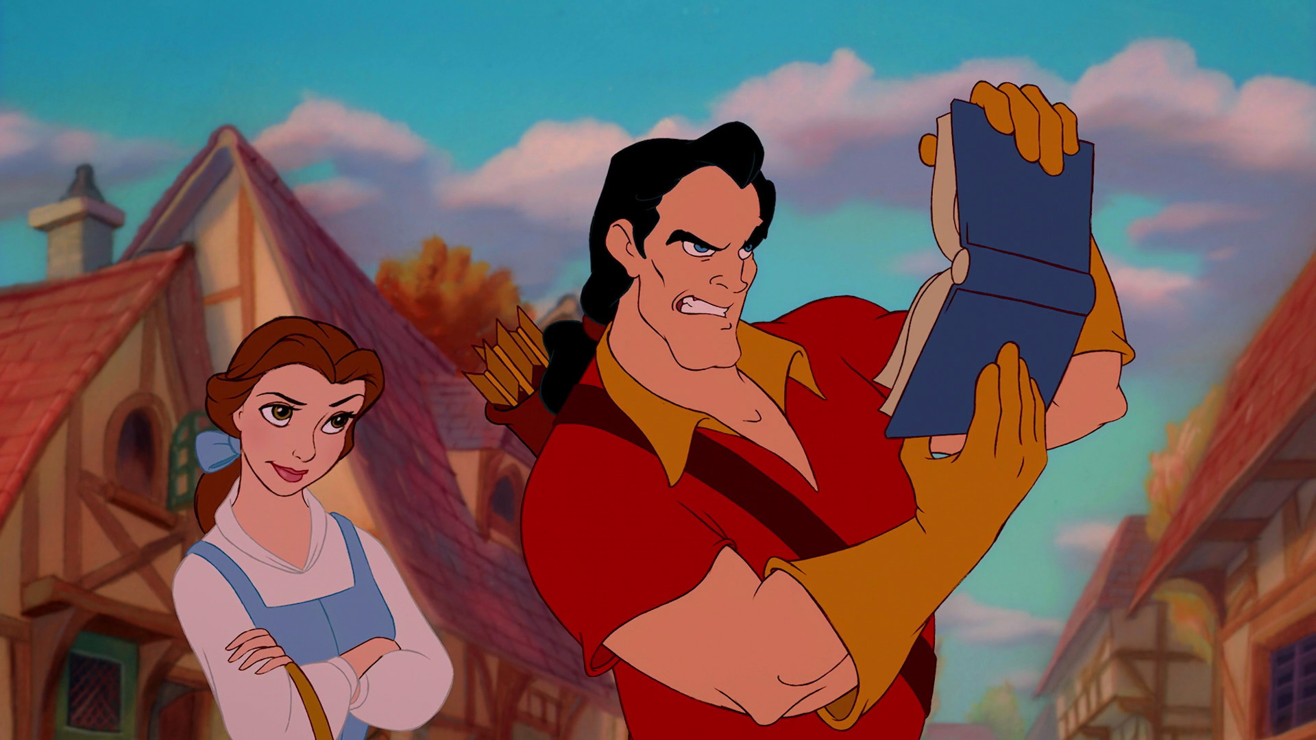 Why Gaston Remains The Most Terrifying Disney Villain Of All