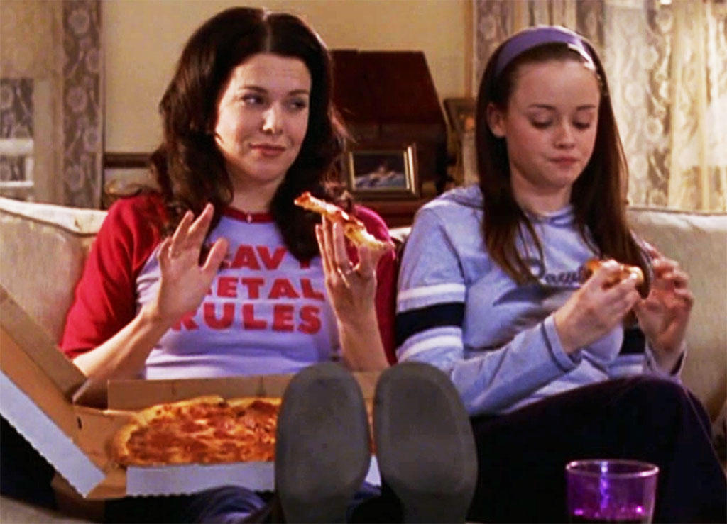 Image result for gilmore girls pizza