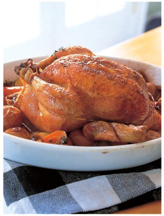 Barefoot contessa easy roast chicken recipe