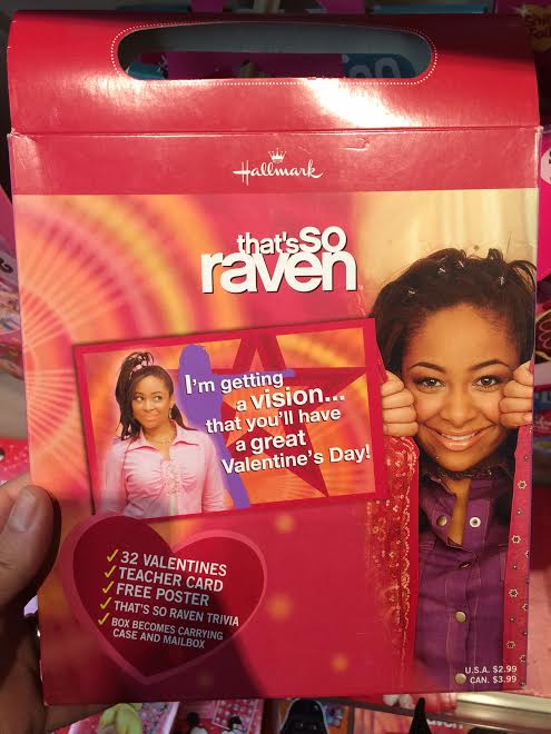 That/'s So RAVEN HALLMARK VALENTINES DAY CARD Lot Of 32 Cards /& Poster W// Box !