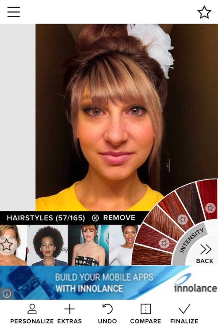 Peachy Does The Modiface App Really Work My New Haircut Inspiration Says Yes Hairstyles For Women Draintrainus