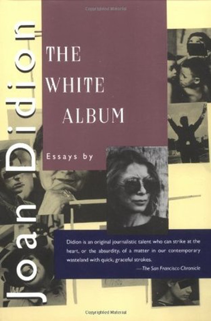 times joan didion was the coolest writer of all time in her 1979 book the white album didion shares her packing list which she kept taped to the inside of her closet door when she would have to travel