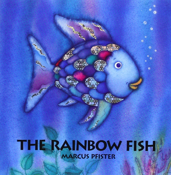 13 picture books from childhood that still have so much to for The rainbow fish by marcus pfister