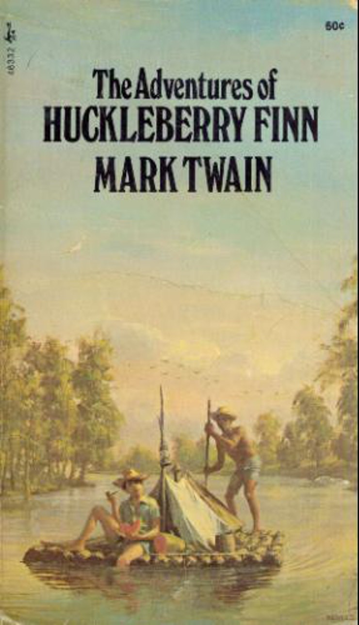 the adventures of huckleberry finn by mark twain fifth most frequently challenged book of the 1990s