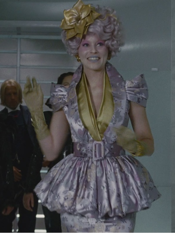 7 Times Effie Trinket S Wardrobe Made Us Go Full On Capitol Envy So May The Odds Be Ever In Our Favors