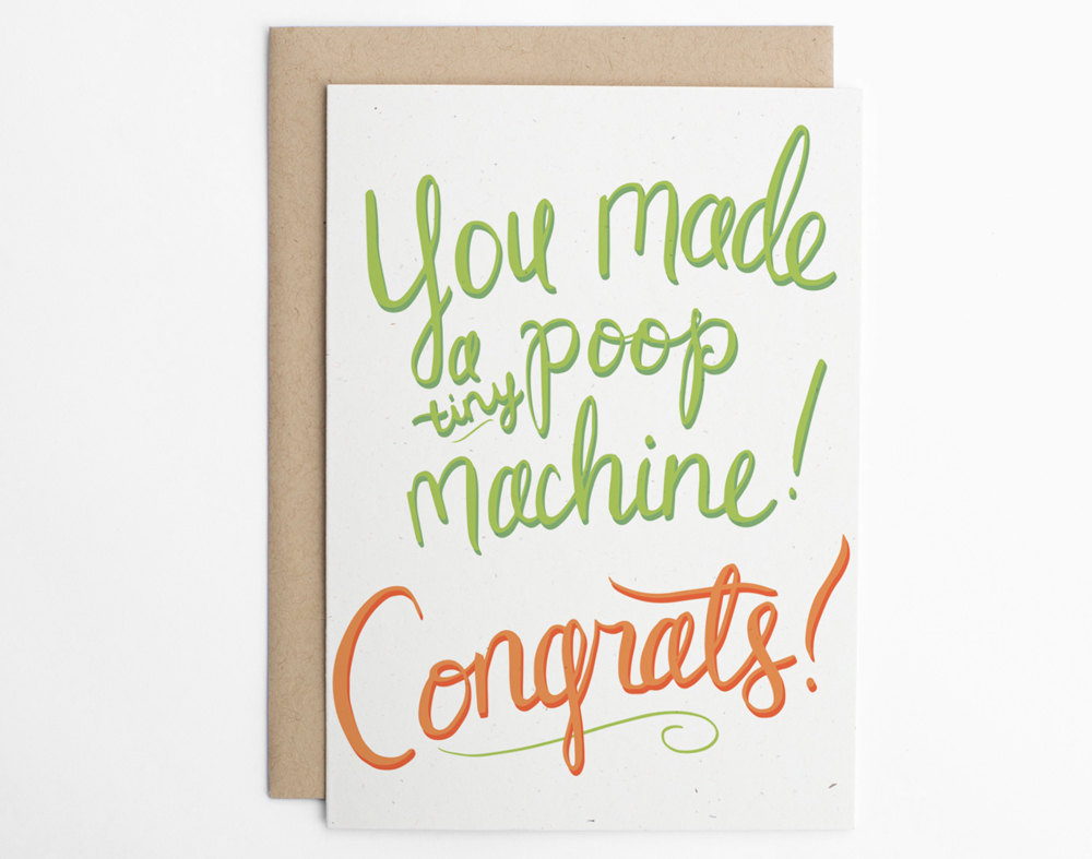 15 Funny Baby Cards To Give To New Parents Who Are Going To Need A