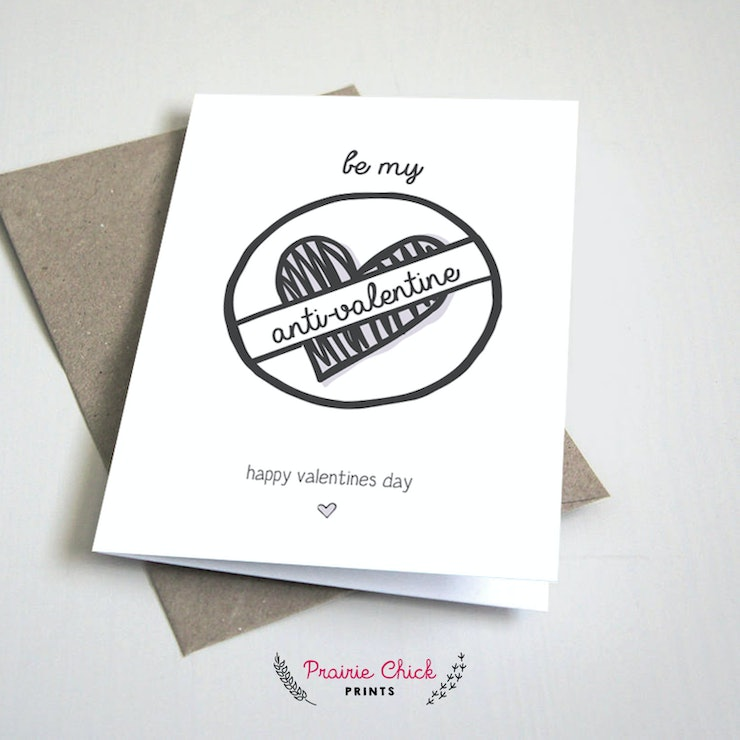 22 AntiValentines Day Cards Perfect For People Who Hate This Holiday – Anti Valentine Day Cards