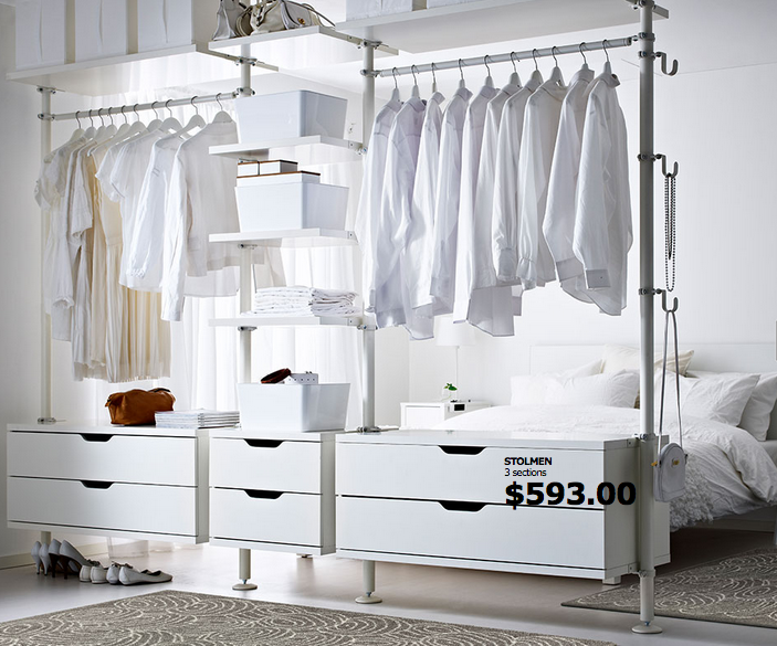 Marvelous The 20 Best Ikea Hacks For Organizing Your Closet, Makeup, And The Rest Of  Your Life In 2015
