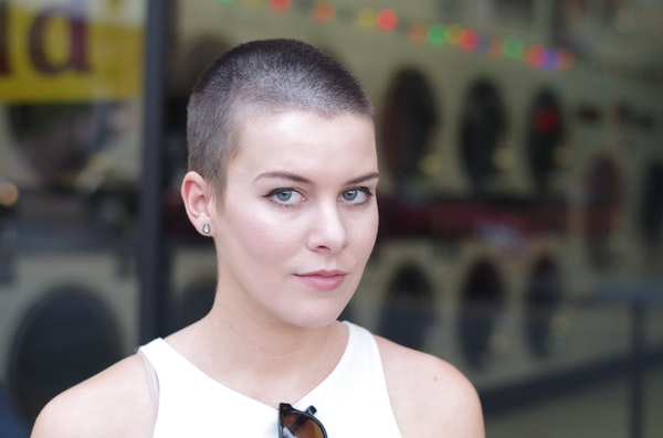 Perfect shaved head
