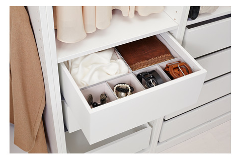 The 20 Best Ikea Hacks For Organizing Your Closet Makeup And The