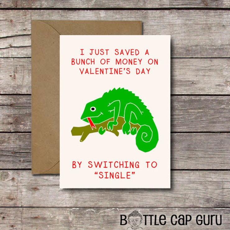 20 Funny Valentines Day Cards For Single People Looking For A Laugh – Friend Valentines Card