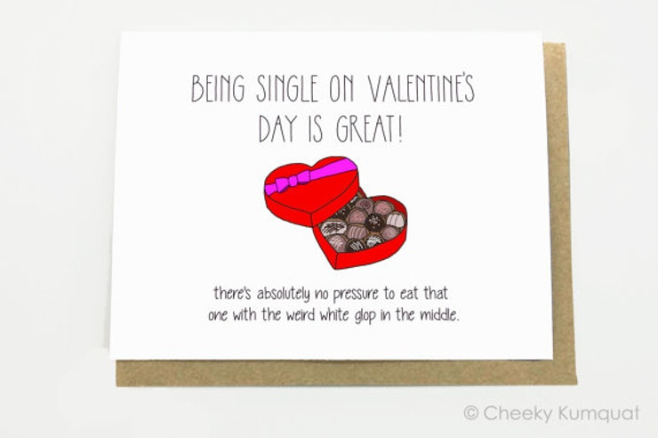 20 Funny Valentines Day Cards For Single People Looking For A Laugh – Valentines Cards for Singles