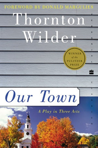 the simplicity of the characters in the play our town by thorton wilder