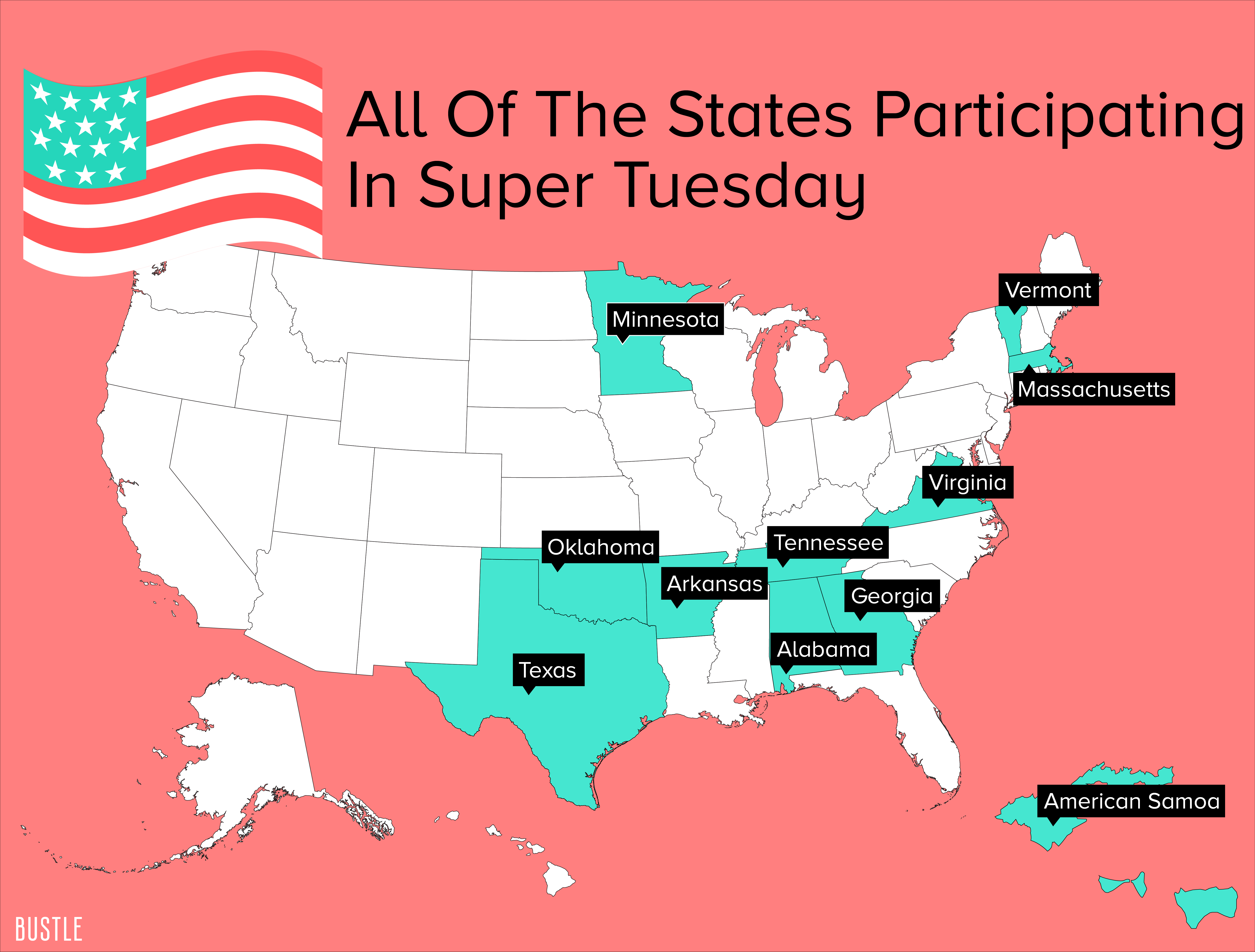what are we voting for on super tuesday in alabama