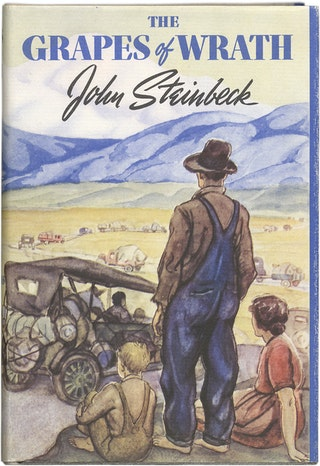 a hatred for corruption in the grapes of wrath by john steinbeck In john steinbeck's novel grapes of wrath, steinbeck uses the word land frequently to signify the difficulty that workers are forced upon when their land fails to provide the necessities in order to live sustainably.