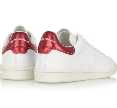 Isabel Marant Etoile Bart Leather Sneakers, $255, Antonia