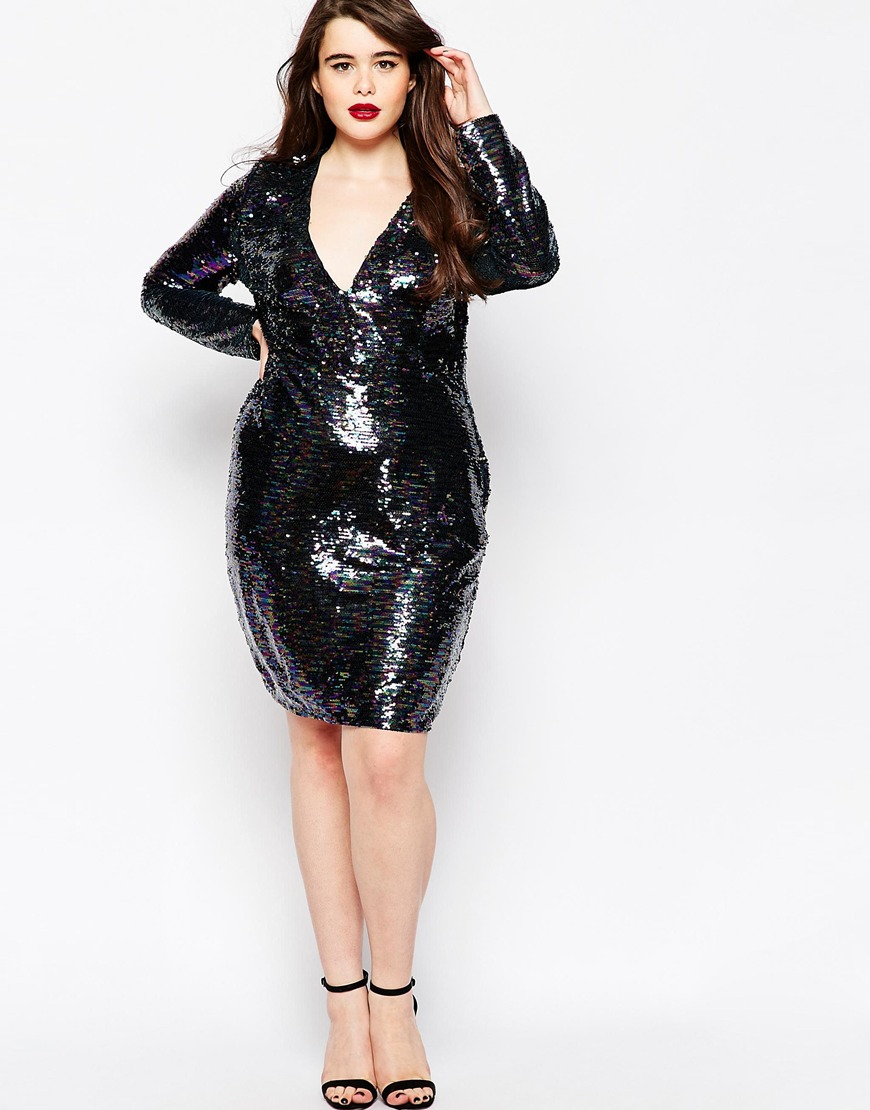 17 Sequin Plus Size Fashions To Get You Through Every Bedazzled ...
