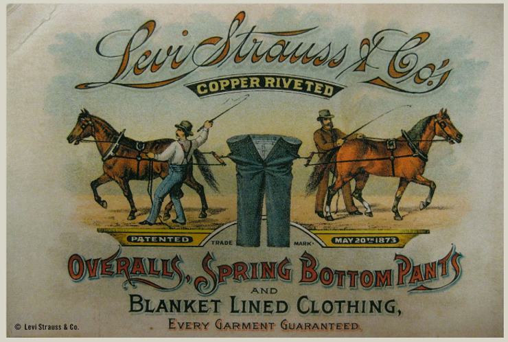 The History of Jeans, From Gold Diggers To Good Americans