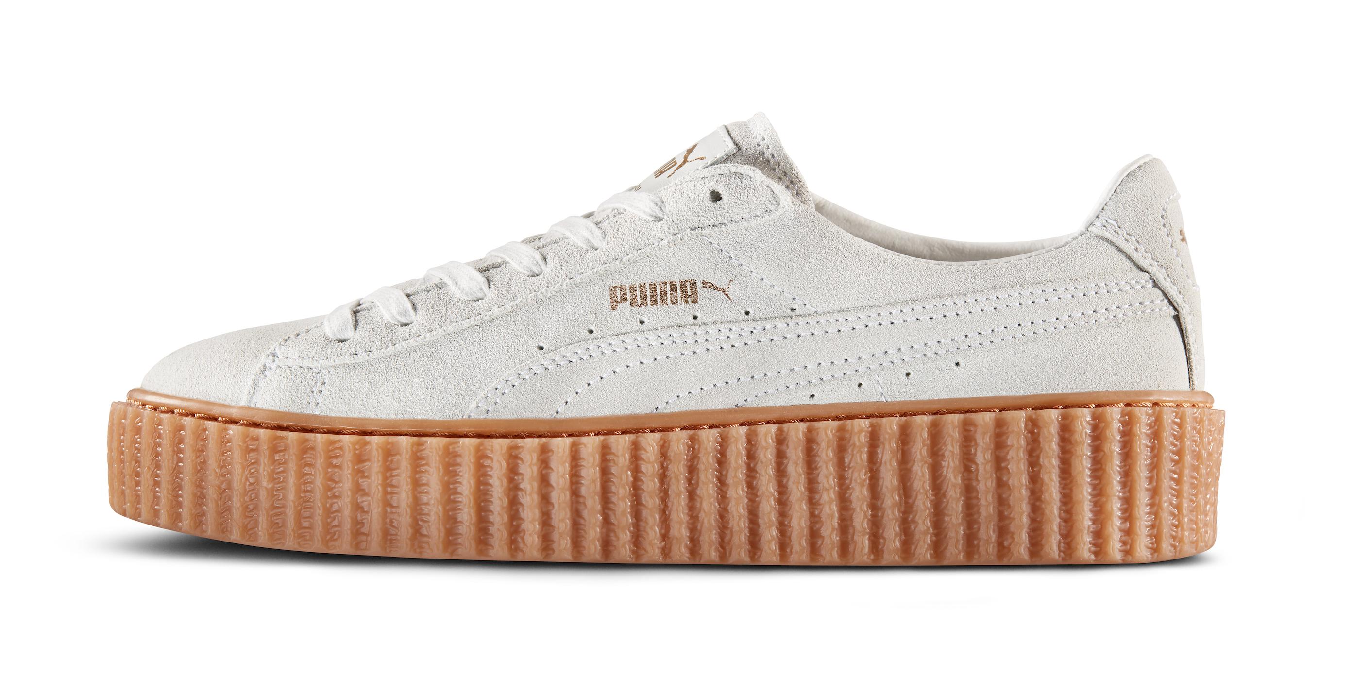 Puma Creepers White Gum
