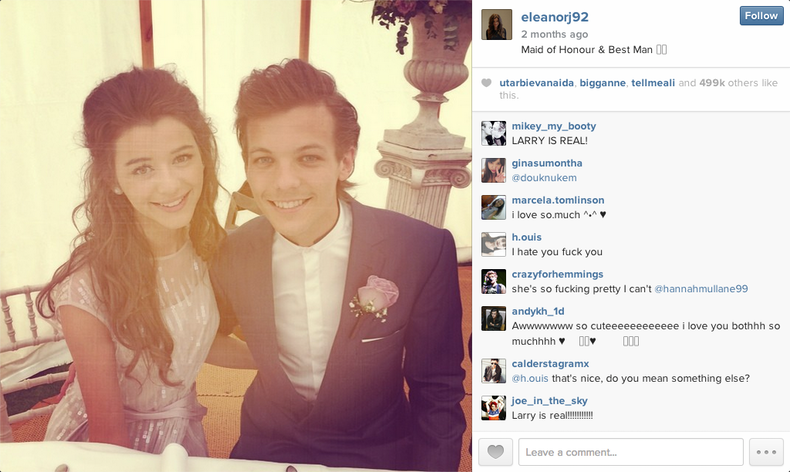 how did louis and eleanor meet the browns
