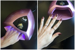 how to get manicure at home