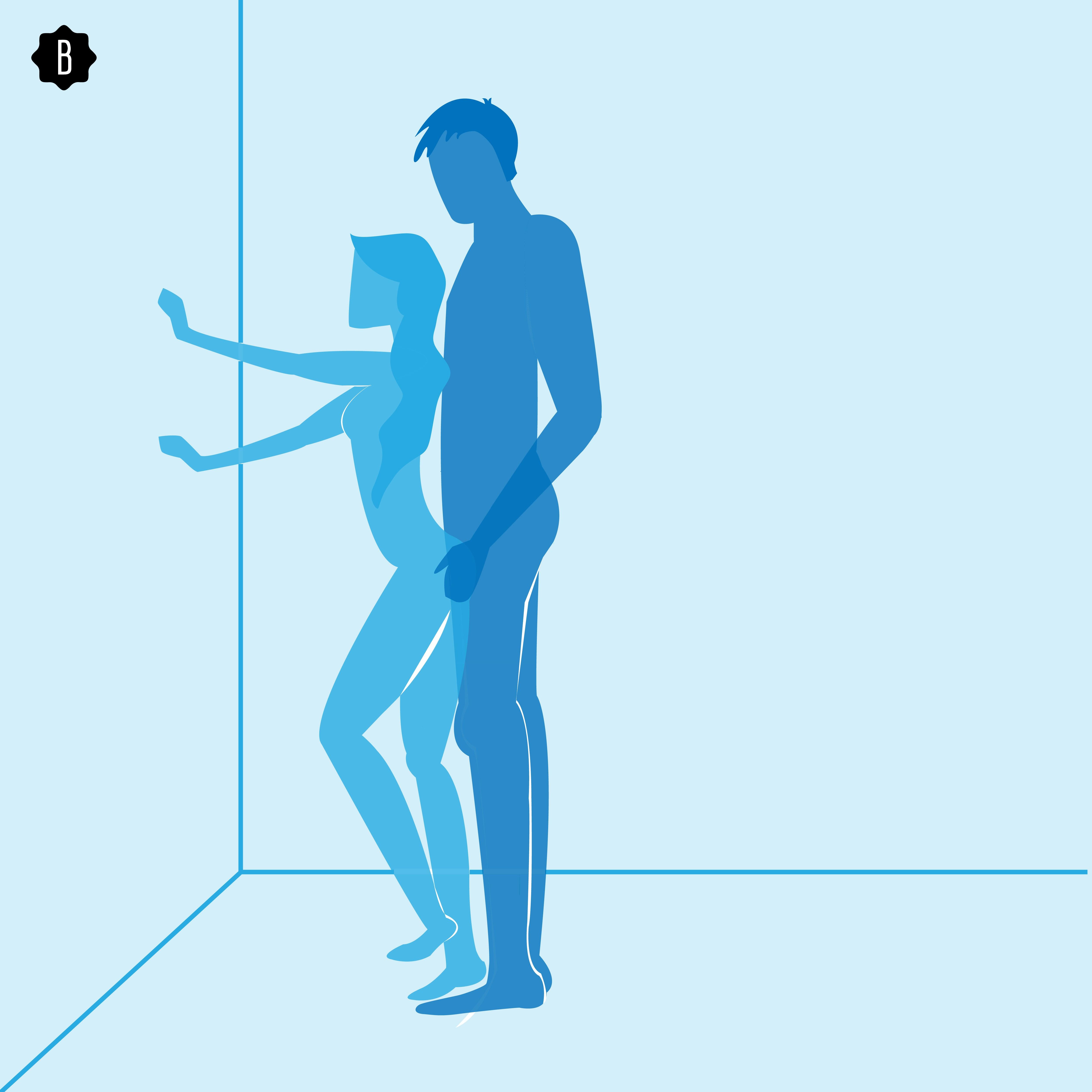 Sex positions that reduce penetration