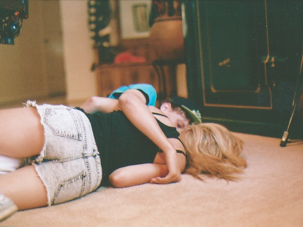 Hot Blonde Teens Cuddling 34