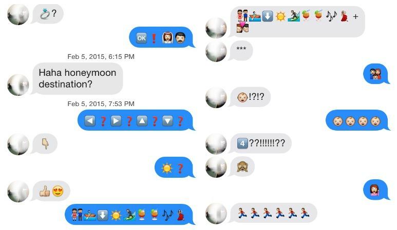 Emoji sex talk