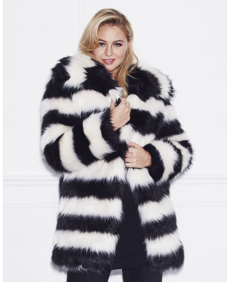 17 plus size faux fur coats to help you channel your inner cookie