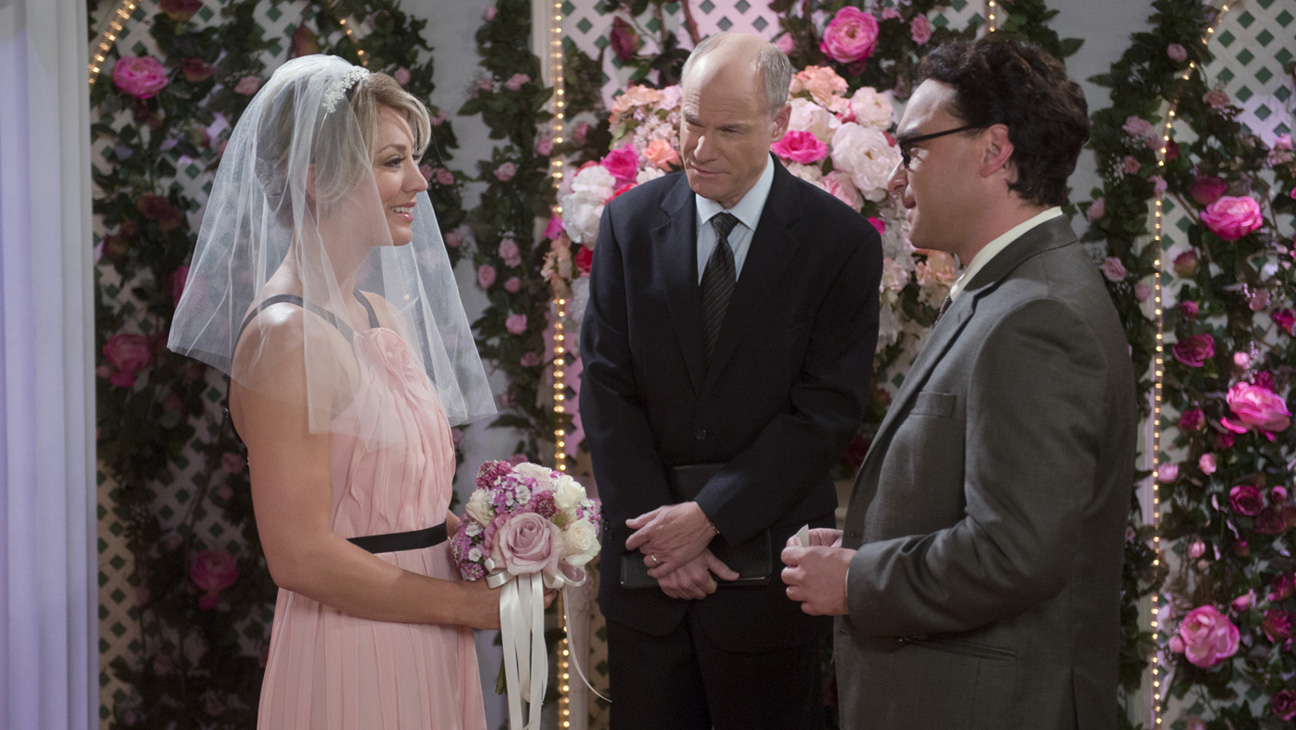 Pennys Big Bang Theory Wedding Dress Is BCBG Available To Shop