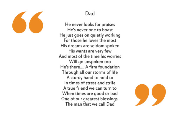 9 Father's Day Poems That'll Make You and Your Dad Tear Up