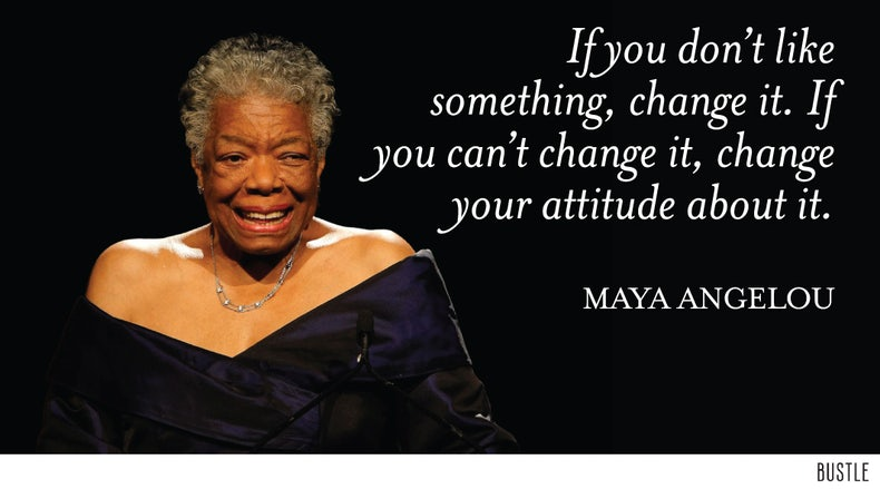 Maya Angelou Quote The Best Comfort Food Will Always Be: Bustle